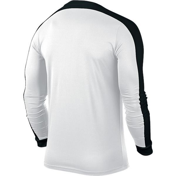 Nike Striker IV LS Football Shirt White/Black Youths