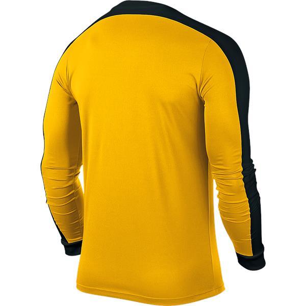 Nike Striker IV LS Football Shirt Uni Gold/Black Youths
