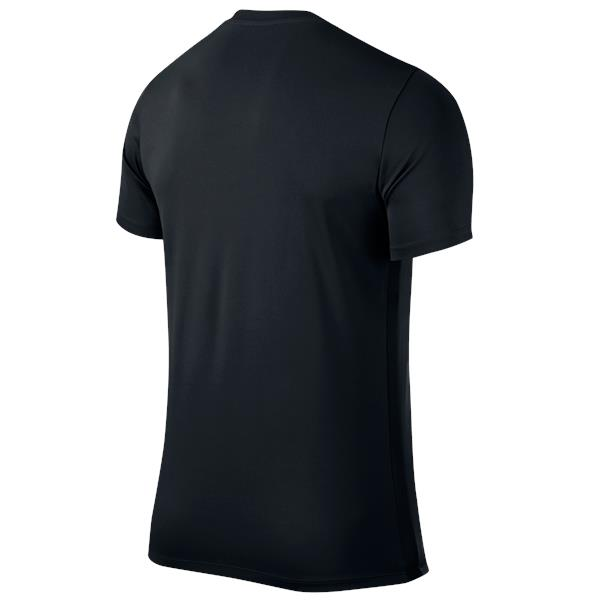 Nike Park VI SS Football Shirt Black/White