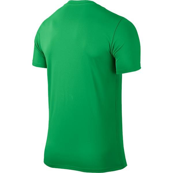 Nike Park VI SS Football Shirt Hyper Verde/Black