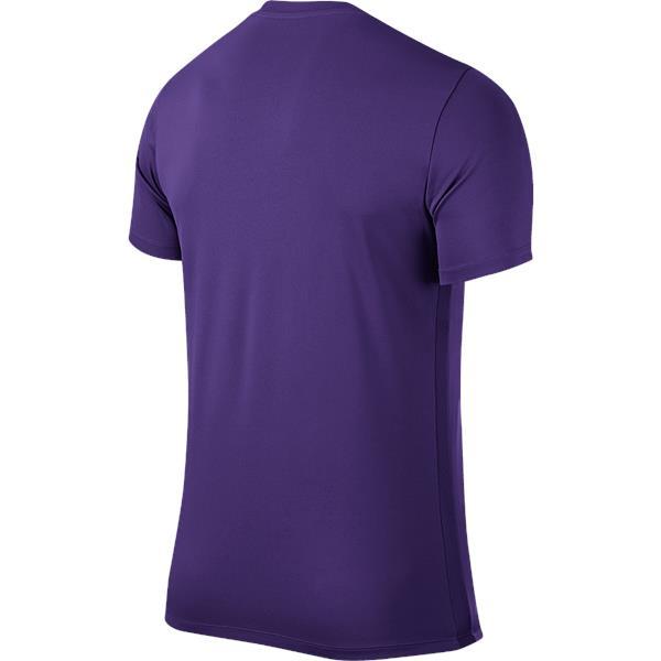 Nike Park VI SS Football Shirt Court Purple/White