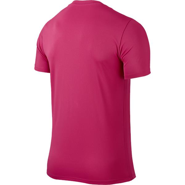 Nike Park VI SS Football Shirt Vivid Pink/Black