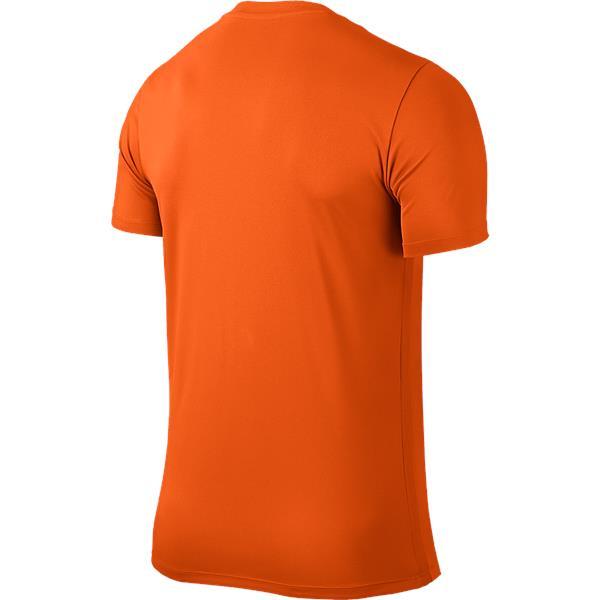 Nike Park VI SS Football Shirt Safety Orange/Black