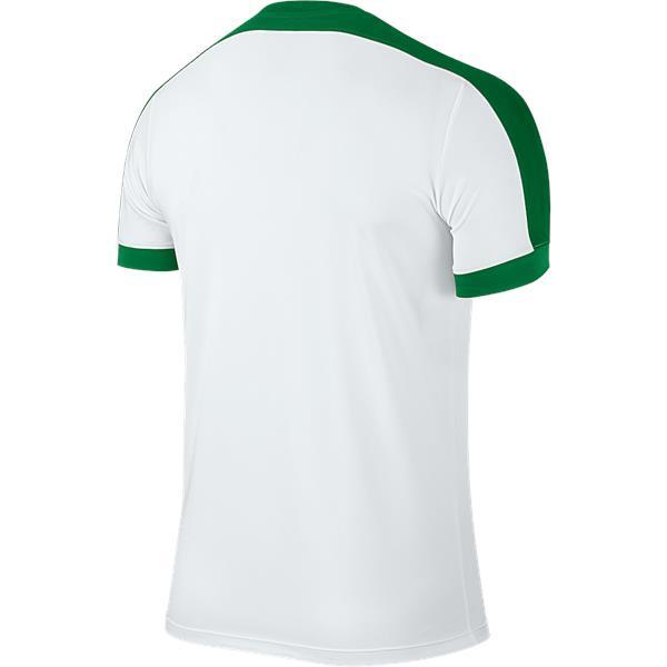 Nike Striker IV SS Football Shirt White/Pine Green Youths