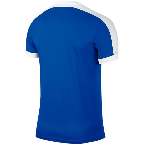 Nike Striker IV Short Sleeve Football Shirt Royal Blue/White