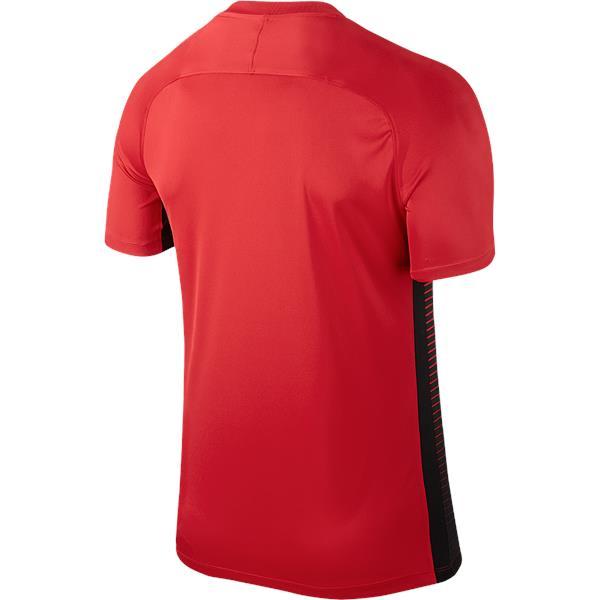 c8bd6910 Nike Precision IV Short Sleeve Football Shirt University Red/Black