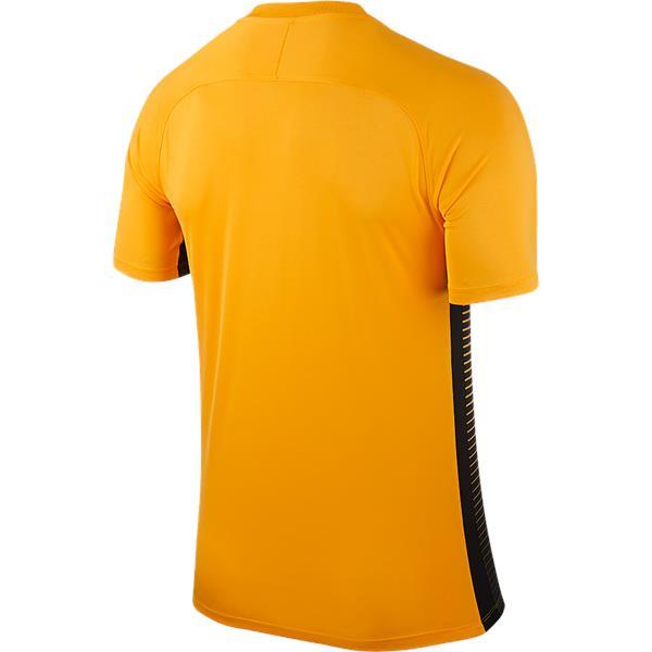 Nike Precision IV SS Football Shirt University Gold/Black