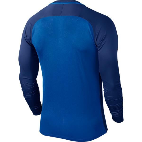 Nike Trophy III LS Football Shirt Royal Blue/Deep Royal Blue