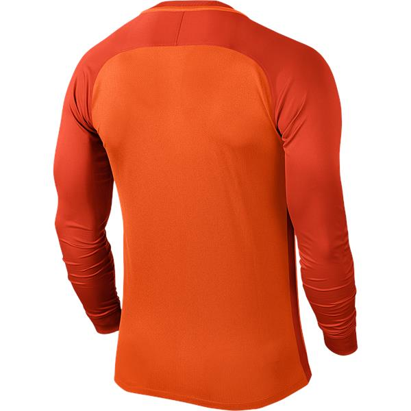Nike Trophy III Long Sleeve Football Shirt Safety Orange/Team Orange