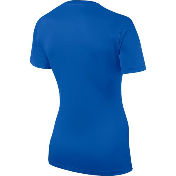 Nike Park Womens Football Shirt Royal Blue/White