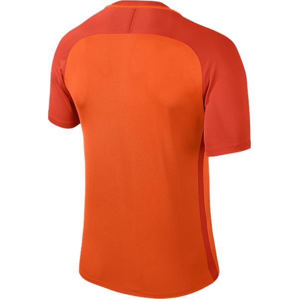 Nike Trophy III Short Sleeve Football Shirt Safety Orange/Team Orange