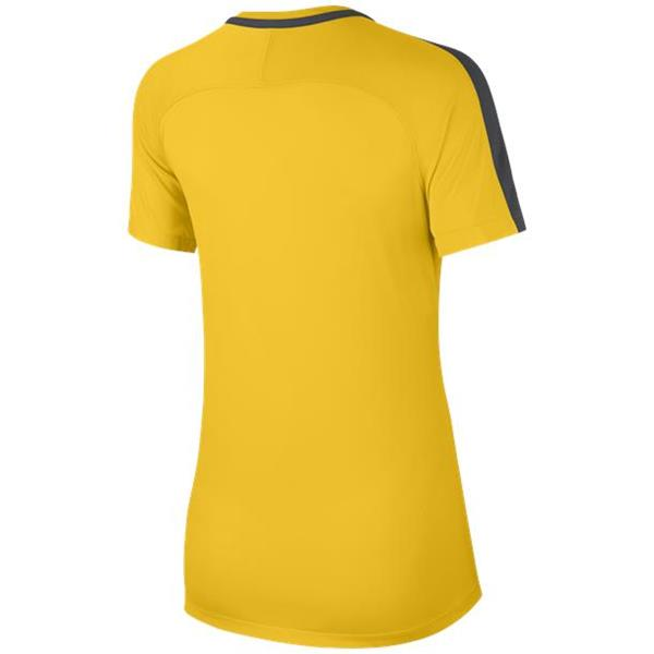 Nike Womens Academy 18 Tour Yellow/Antracite Training Top