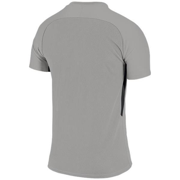 Nike Tiempo Premier SS Football Shirt Pewter Grey/Black