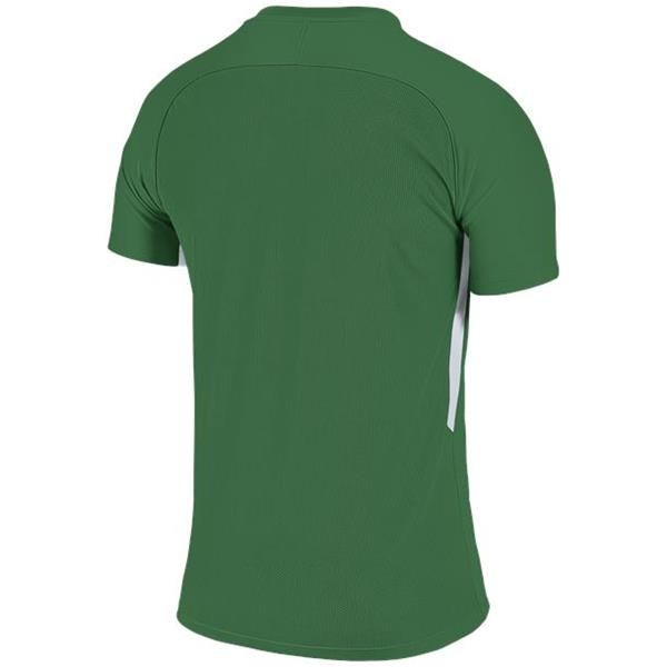Nike Tiempo Premier SS Football Shirt Pine Green/White