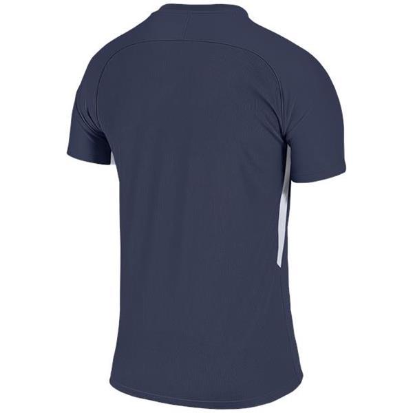 Nike Tiempo Premier SS Football Shirt Midnight Navy/White