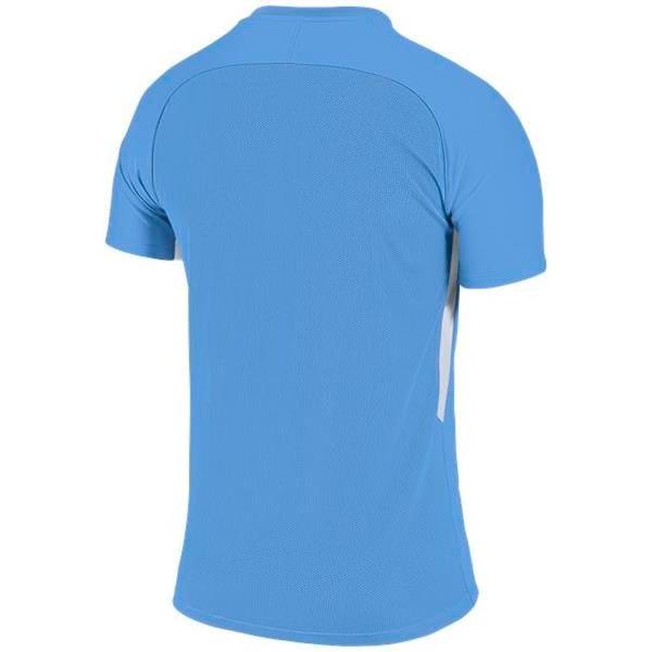 Nike Tiempo Premier SS Football Shirt Uni Blue/White