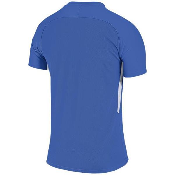 Nike Tiempo Premier SS Football Shirt Royal Blue/White