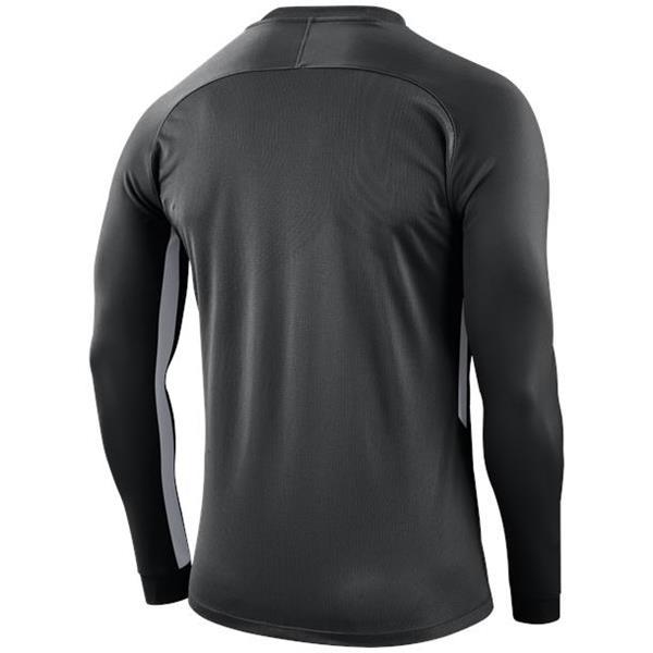 Nike Tiempo Premier LS Football Shirt Black/White