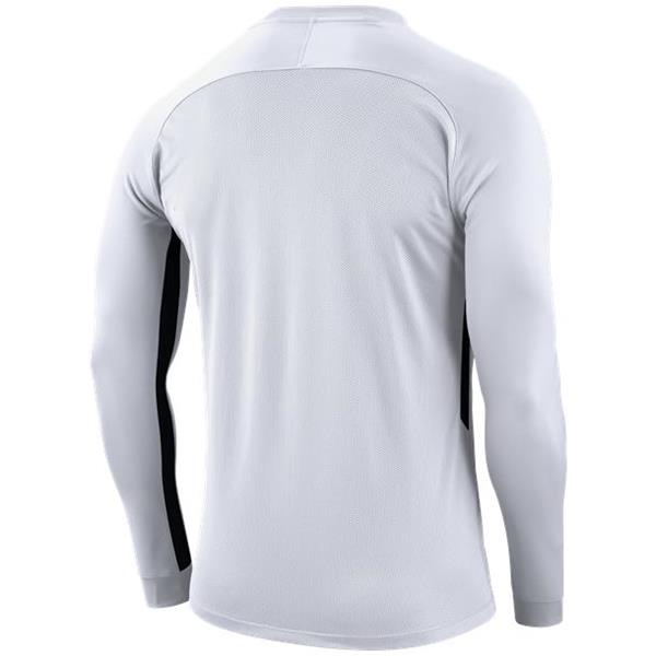 Nike Tiempo Premier LS Football Shirt White/Black