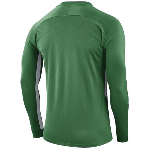 Nike Tiempo Premier LS Football Shirt Pine Green/White