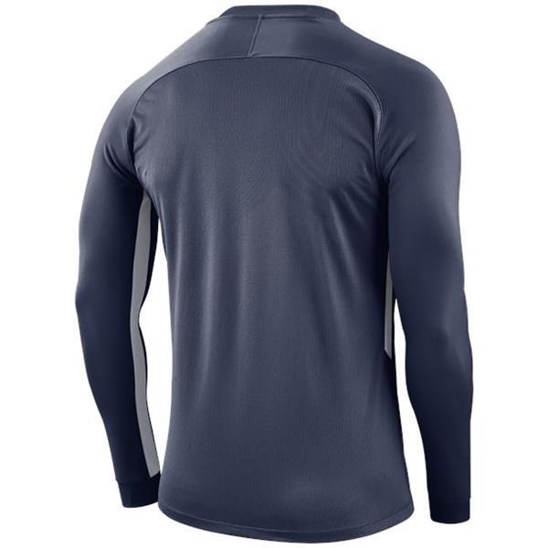 Nike Tiempo Premier LS Football Shirt Midnight Navy/White