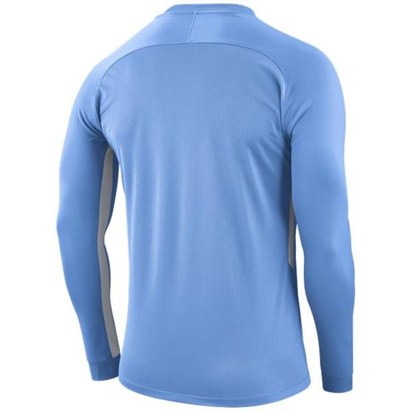 Nike Tiempo Premier LS Football Shirt Uni Blue/White