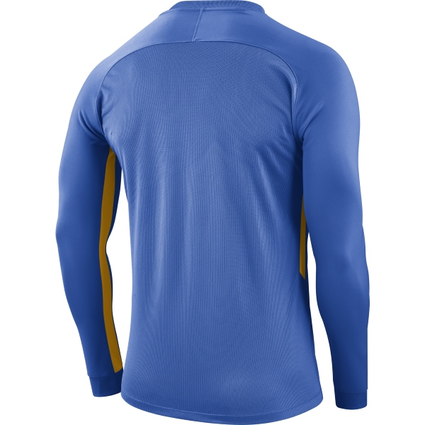 Nike Tiempo Premier LS Football Shirt Royal Blue/Uni Gold