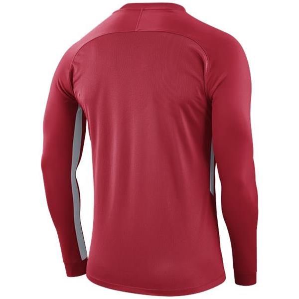 Nike Tiempo Premier LS Football Shirt Uni Red/White