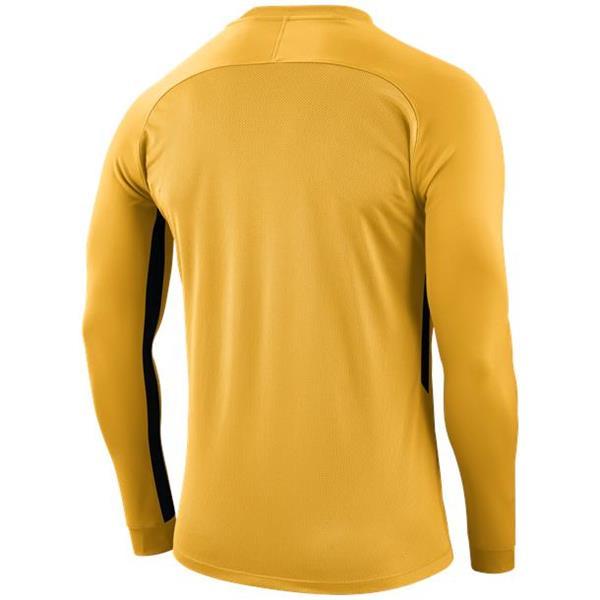 Nike Tiempo Premier LS Football Shirt Uni Gold/Black
