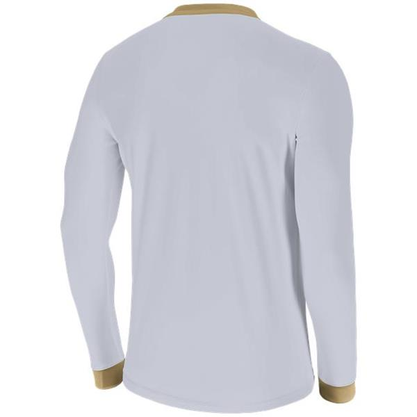 Nike Park Derby II White/Jersey Gold LS Football Shirt