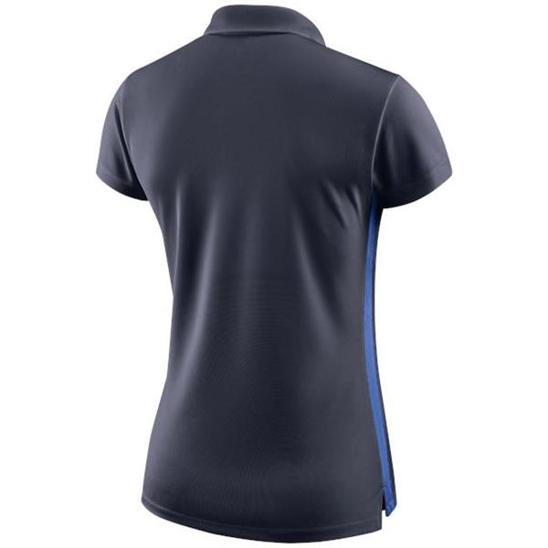 Nike Womens Academy 18 Obsidian/Royal Blue Polo