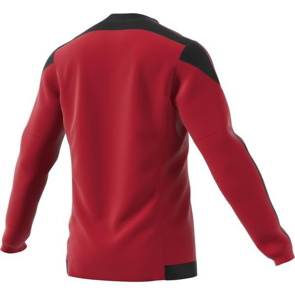 adidas Striped 15 Power Red/Black LS Football Shirt