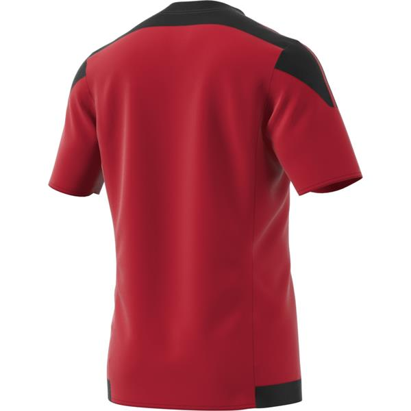 adidas Striped 15 Power Red/Black SS Football Shirt