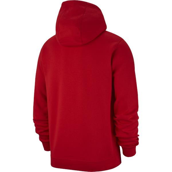 Nike Team Club 19 Full Zip Hoodie University Red/White
