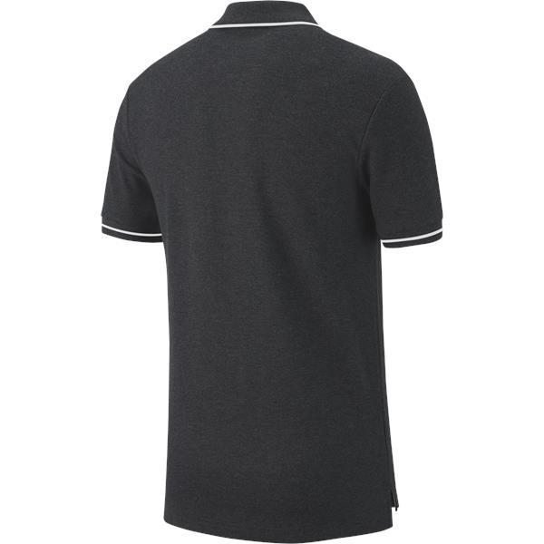 Nike Team Club 19 Polo Charcoal/White