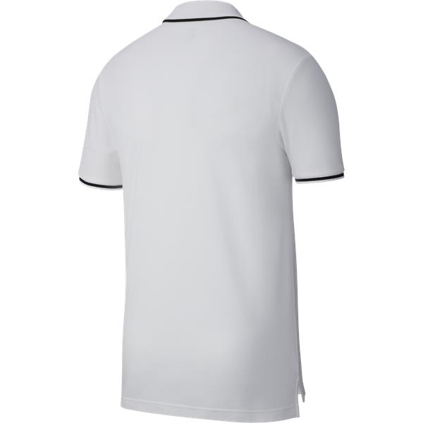 Nike Team Club 19 Polo White/Black