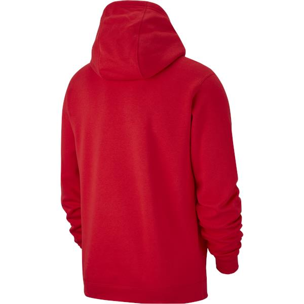 Nike Team Club 19 Hoodie University Red/White