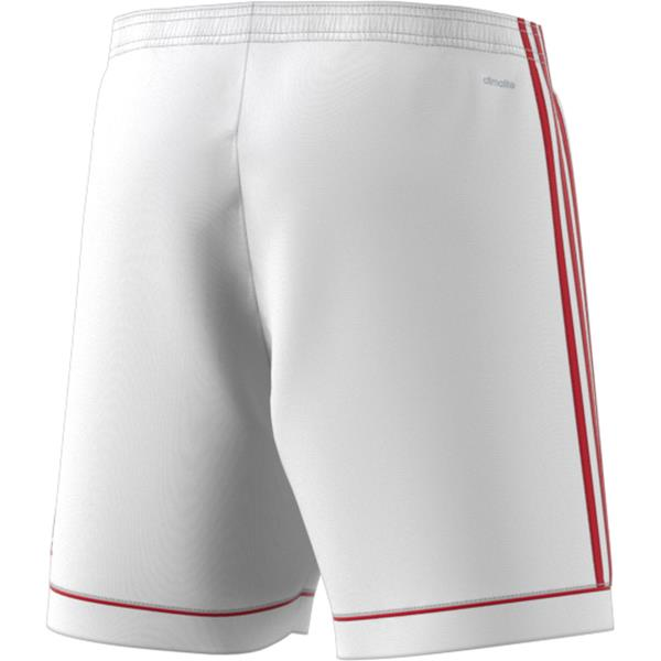 adidas Squadra 17 White/Power Red Football Short