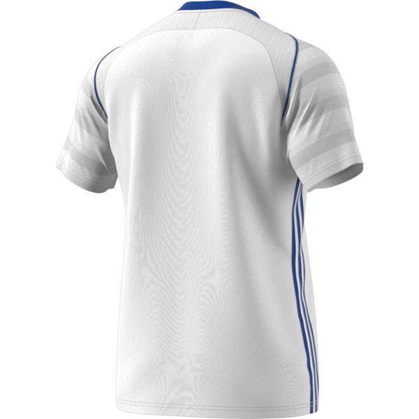 adidas Tiro 17 White/Bold Blue Football Shirt Youths