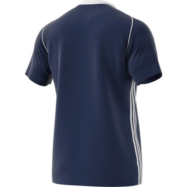 adidas Tiro 17 Dark Blue/White Football Shirt Youths