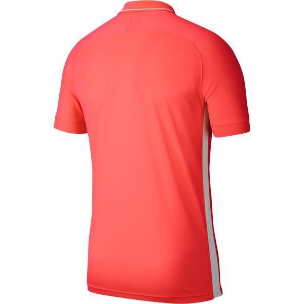 Nike Academy 19 Polo Bright Crimson/White