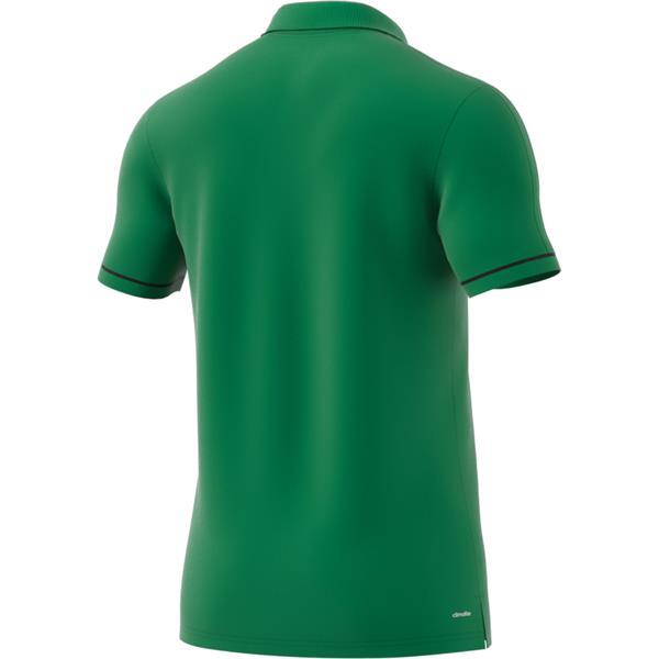 adidas Tiro 17 Green/Black Cotton Polo