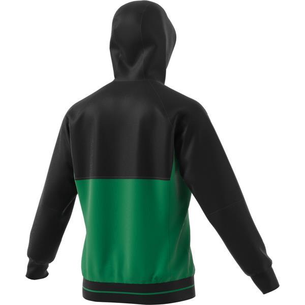 adidas Tiro 17 Black/Green Presentation Jacket