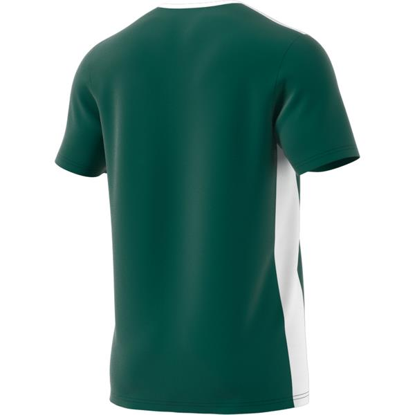 adidas Entrada 18 Collegiate Green/White Football Shirt