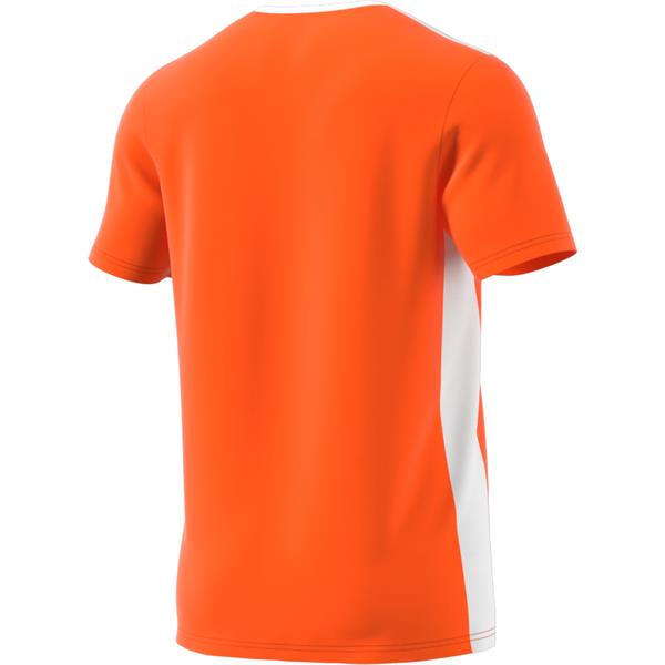 adidas Entrada 18 Orange/White Football Shirt