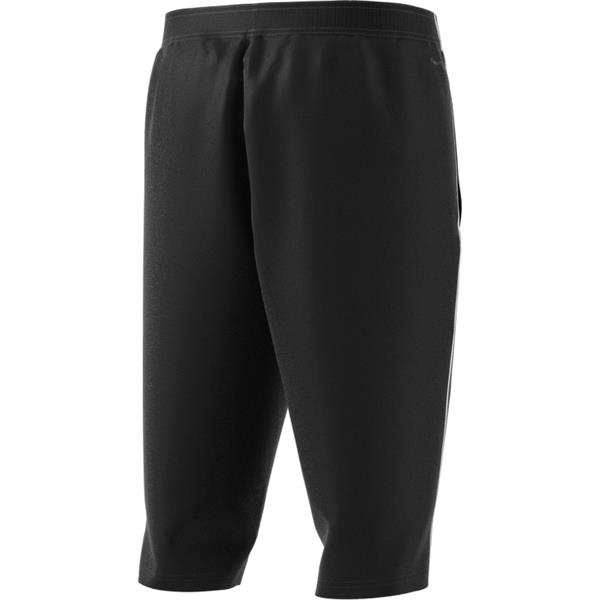 adidas Core 18 Black/White 3/4 Pants