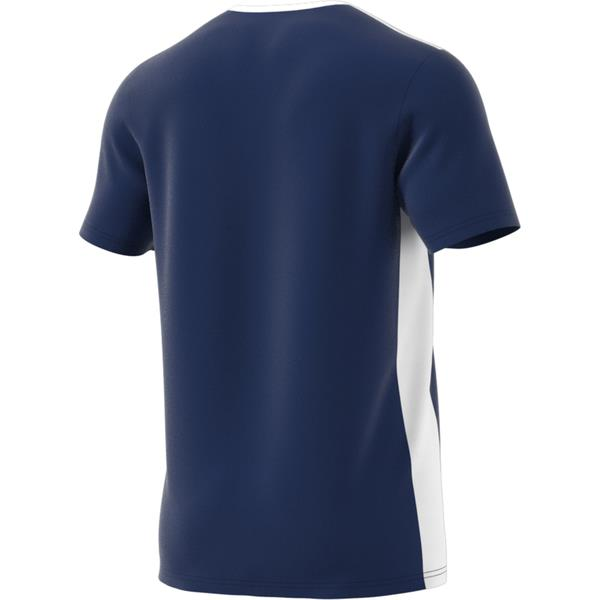 adidas Entrada 18 Dark Blue/White Football Shirt