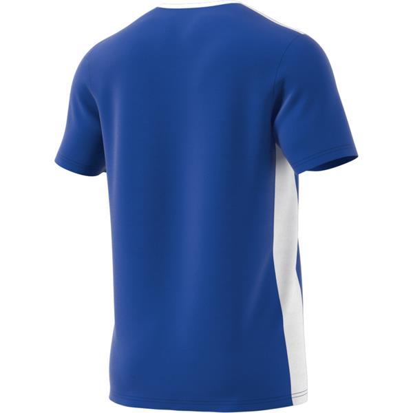 adidas Entrada 18 Bold Blue/White Football Shirt