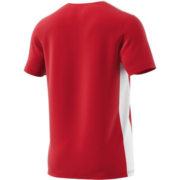 adidas Entrada 18 Power Red/White Football Shirt