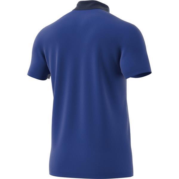adidas Condivo 18 Bold Blue/Dark Blue Cotton Polo